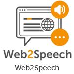 Naar de installatiebestanden van Web2Speech